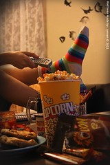 GURLZ MOVIE NIGHT (S E R E E N) Tags: night canon movie candy popcorn gurlz 500d sereen cookis   500