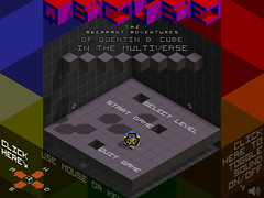 QBCUBE Screenshot - Main Menu
