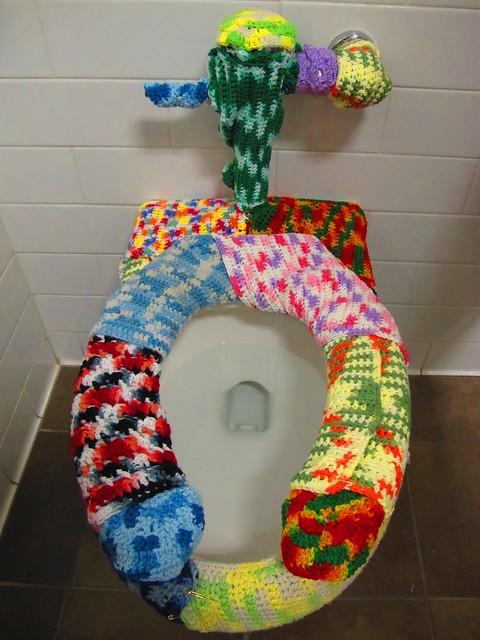 Crochet Throne