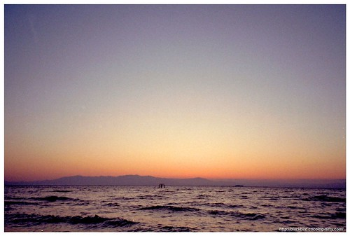 Sunset at lake Biwa #03