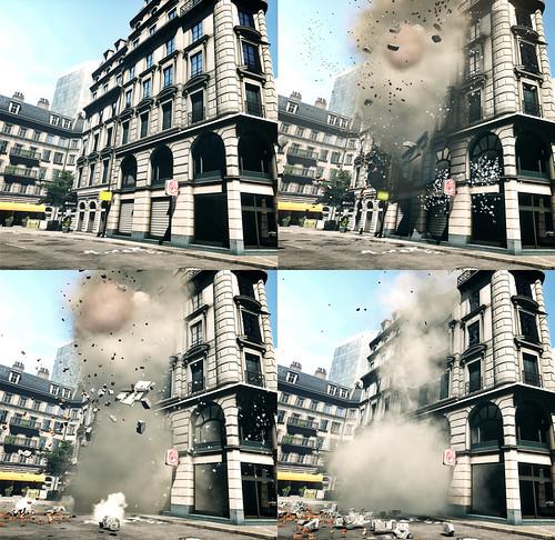 Battlefield 3 Destruction