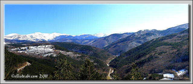 Panorama vista desde Muskilda