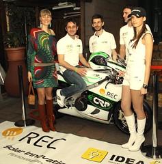 CRP Racing team with Livia Cevolini (CRP Group) Tags: club idea milano racing navigli rec elettrici fv crp bobino veicoli campionati ecrp