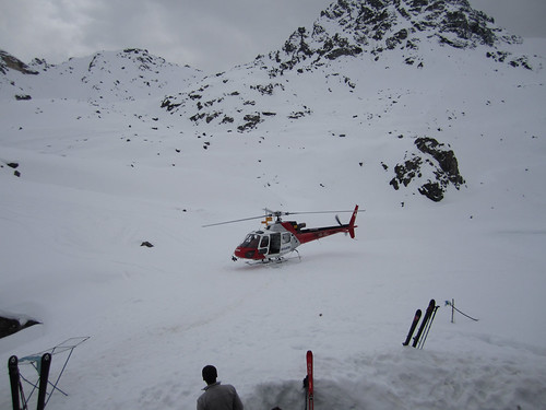 Helicopter Ski Delivery