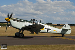 G-BWUE - 223 - Historic Flying Ltd - Hispano HA.1112-M1L Buchon - 100711 - Duxford - Steven Gray - IMG_3493