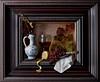 Still Life - The Breakfast Piece (ontbijtje) (kevsyd) Tags: lemon grapes roemer kevinbest dutchstilllife dutchframe delftjug
