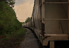 I could hear it (builder24car) Tags: railroad graffiti pov tracks trainart paintedboxcar benchingthefreights