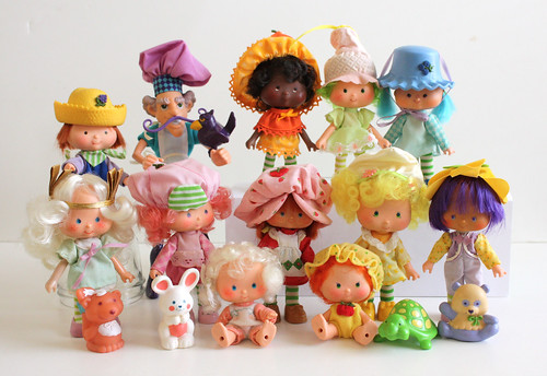 The Whole Strawberry Shortcake Gang