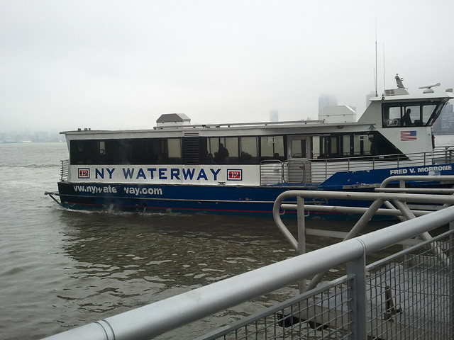 ferry ride from manhattan to new jersey pier 11