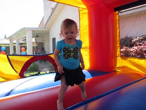 Evan's 1st birthday party