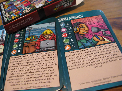 Science careers top trumps.