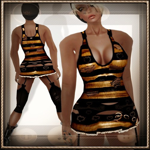 A&A Fashion Neo Outfit Brown