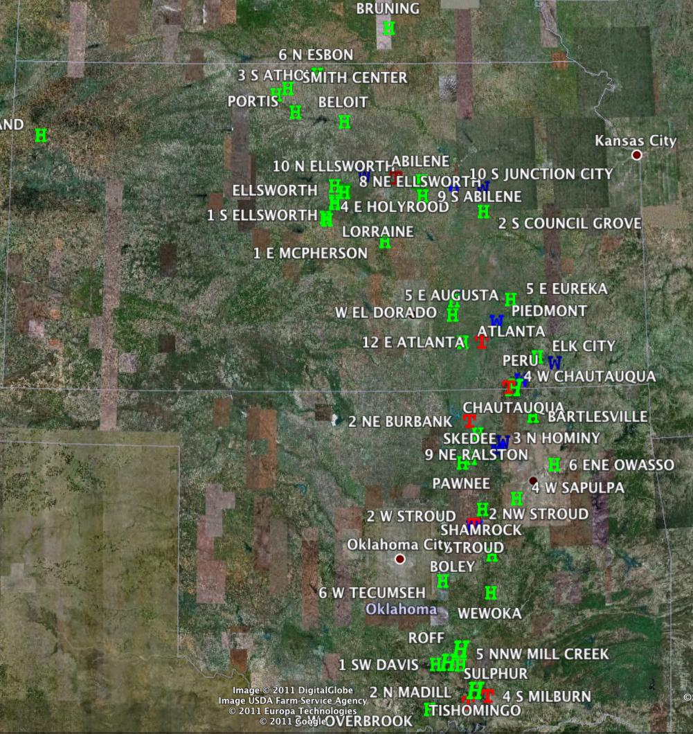 SPC Storm Reports 4-14-11