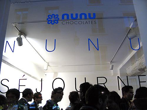 nunu chocolates in Paris
