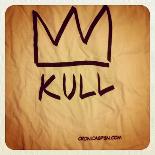 Mañana al salón con la camiseta de @blip_psn! (la plancharé y tal)