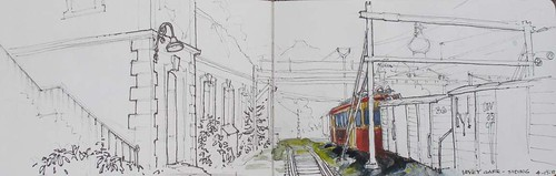Vevey-Gare by Spencer Mackay