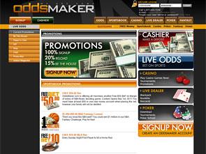 Oddsmaker Sports Review