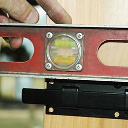 Install Shutter Lock
