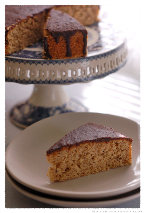 hazelnut and coffee cake© by Haalo
