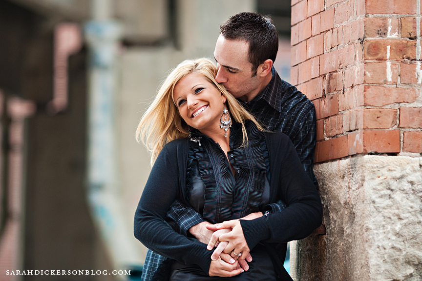 Kansas City West Bottoms engagement photography