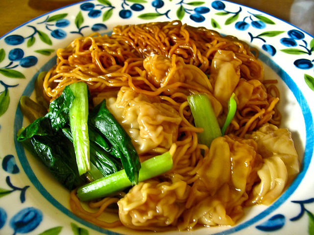 IMG_2298 云吞面,wanton noodle