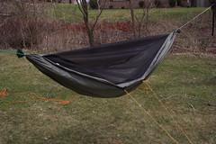 diy hiking gear hammock myog