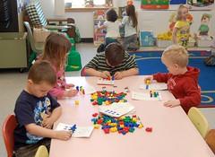 Pre-kindergarten at Houlton Elementary School.