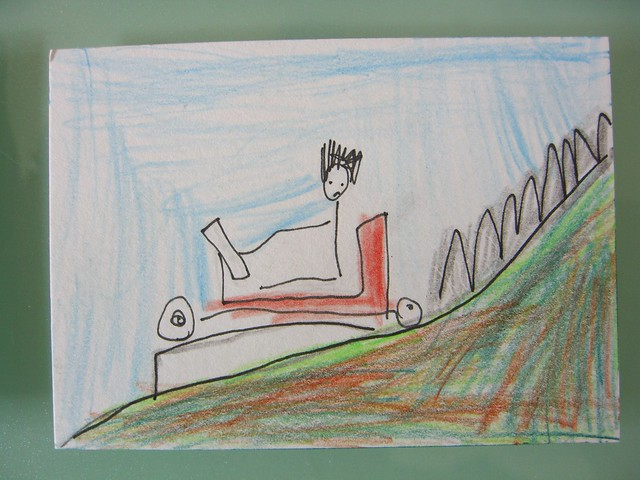 Billycart by Luca (age 6)