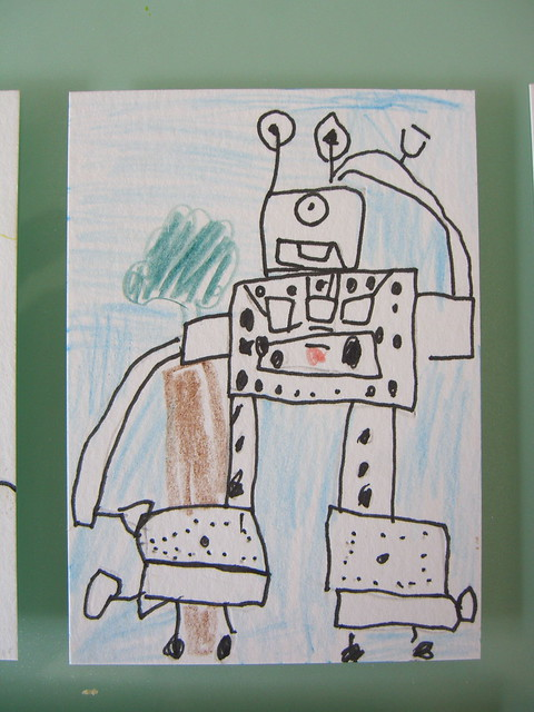 Trainbot by Luca (age 6)