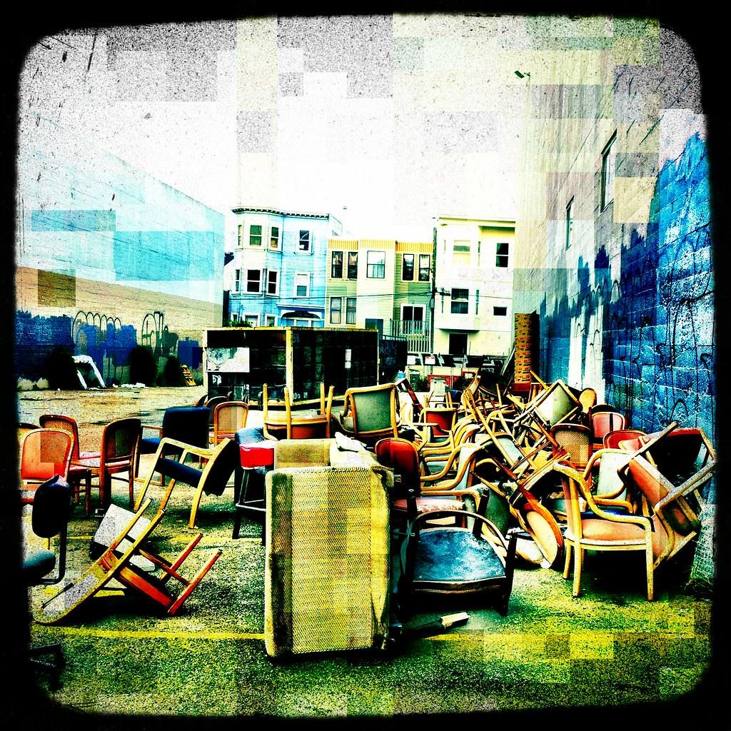 Chair(pile)
