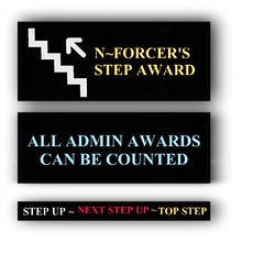 ~ STEP UP AWARD - N~FORCER ~