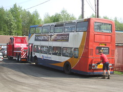 Carlton, Barnsley (Andrew Stopford) Tags: carlton stagecoach leyland barnsley olympian f804fao alexanderrl trevorwigley