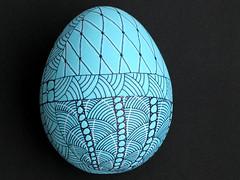 Easter Egg 3 (JJLaBarbera) Tags: easter egg easteregg zentangle divaschallenge