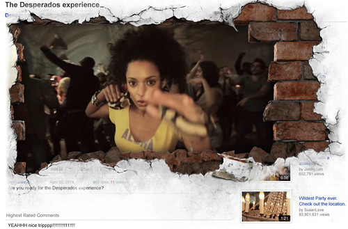 Youtube Expandable Video Ad - The Desperados experience