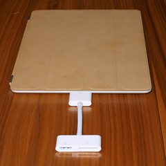 iPad2 mit HDMI-Adapter