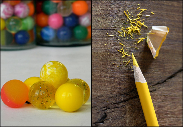 { yellow }