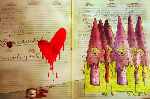 cofradía del escurrido corazón by gemma_granados