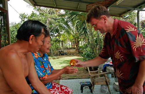 Songkran traditions