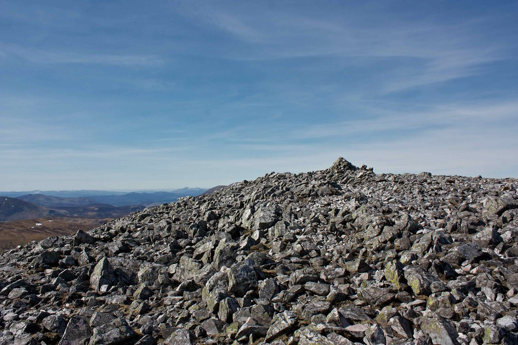 Carn an Righ summit cairn