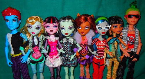 monster high dolls, via api.ning