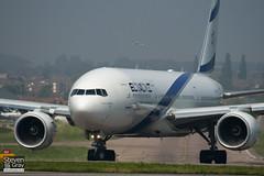 4X-ECF - 36084 - El Al Israel Airlines - Boeing 777-258ER - Luton - 110420 - Steven Gray - IMG_4430