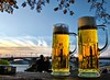 Cheers!! (Ken Yuel Photography) Tags: beer rhineriver xoxo beermugs digitalagent coolones kenyuel mainzgerman banksoftherhineriver
