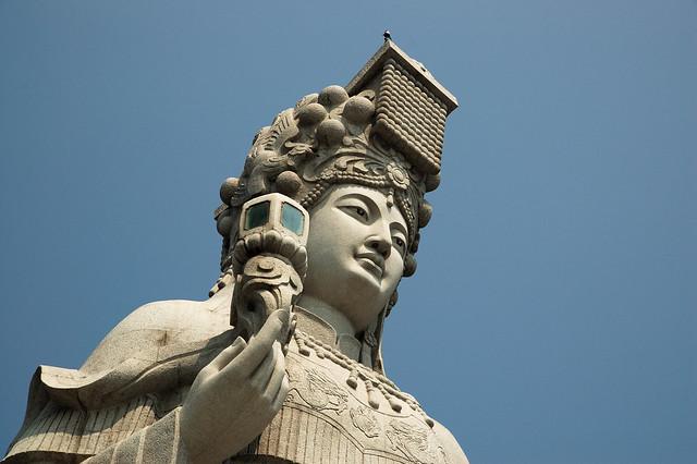 2011.04.02 馬祖 / 南竿 / 馬祖村 / 媽祖巨神像