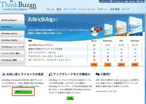 iMindMap5の入手方法