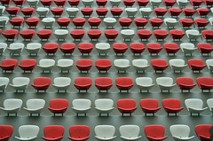 Sea of Seats (spieri_sf) Tags: red white chair stadium empty beijing seats olympic birdsnest nationalstadium flickr10 foursquare:venue=4b6b7becf964a520b90b2ce3 nationalstadium