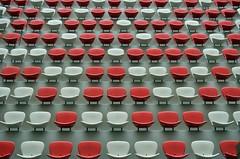 Sea of Seats (spieri_sf) Tags: red white chair stadium empty beijing seats olympic birdsnest nationalstadium flickr10 foursquare:venue=4b6b7becf964a520b90b2ce3 国家体育场nationalstadium