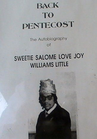Mother Sweetie love, joy, Williams Little back to Pentecost WHEN WE WERE ALL IN ONE ACCORD IN 1965 by selma best videos