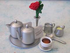 High Tea #4 Silverward Tea Set