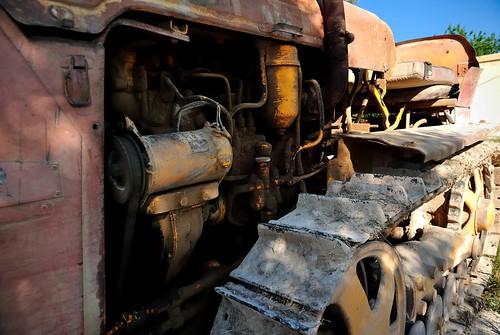 El viejo tractor Bolgar