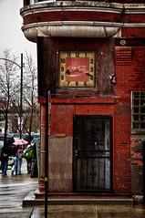 Stop Clock (Explored 4/25/11) (benchorizo) Tags: chicago nikon pilsen cocacola clocks banias d90